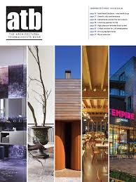 Can An Architectural Technologist Design Buildings The Architectural Technologist Book September 2015 Issue 3