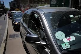 Uber Lyft Light Up Sign Uber Lyft Use Skyrocketing In Massachusetts The Boston Globe