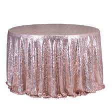 round 47 039 039 sparkly sequin tablecloth table
