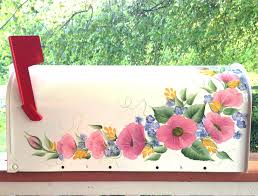 hand painted mailbox designs. Hand Painted Mailboxes Mailbox Designs