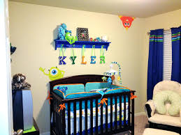monsters inc nursery bedding our crib from wooden peg shelf was painted to reflect disney little