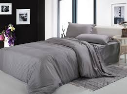 solid gray comforter sets