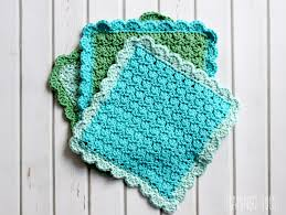 Easy Crochet Dishcloth Patterns Impressive Easy Crochet Dish Cloth Pattern