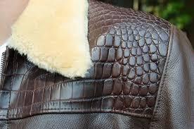 mens leather jackets image mens crocodile