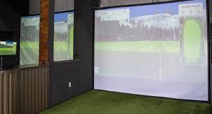 diy golf simulator impact screen