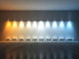 Led Light Color Chart Led Bulb Color Temperature Charliebit Me