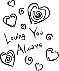 Small Picture Coloring Pages That Say I Love You Printable of I Love You