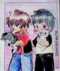 Bill and Ivan - Wolf brothers by dcrisisbeta on DeviantArt