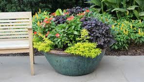 garden bucket. Storing Garden Containers For The Winter Bucket