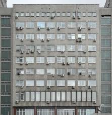 Simple City Window Texture Multistorey Building Of Dull And Inspiration
