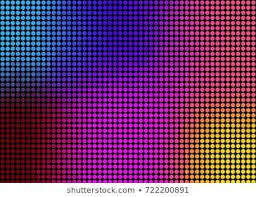 colorful gradient <b>color abstract</b> background with dot pattern | Abstract ...