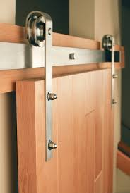 Classic Stainless Steel - Sliding Barn Door Hardware| Real Sliding ...