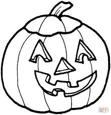Small Picture Funny Pumpkin Mask coloring page Free Printable Coloring Pages