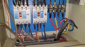 diesel generator auto start and stop circuit with diagram youtube generator control panel wiring diagram at Generator Control Panel Wiring Diagram