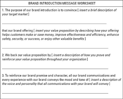 How To Write Your Businesss Brand Launch Plan Dummies