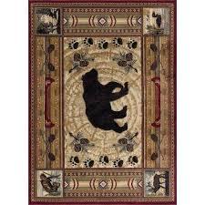 lodge area rug
