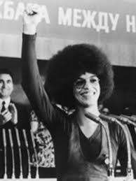 Image result for angela davis russia