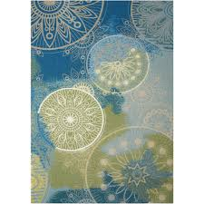 this review is from home and garden blue 4 ft x 6 ft indoor outdoor area rug