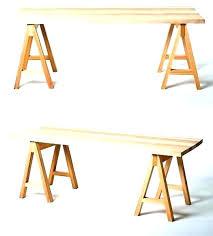 sawhorse desk legs sawhorse table legs sawhorse desk legs chrome table for glass metal work