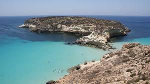 Isola Dei Conigli Lampedusa Sicily Europe