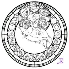 Small Picture 17 best Disney Stained glass images on Pinterest Drawings