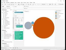 How To Create A Packed Bubble Chart With Multiple Measures In Tableau