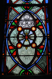 henry sharp studio detail of grisaille in side window 1871 72 trinity cathedral episcopal pittsburgh