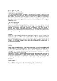 Cover Letter Sample Profiles For Resumes Sample Professional