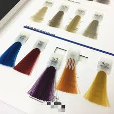 Color Mixing Chart For Hair Hot Item Detachable Plastic Clip Silky Hair Color Swatch Mixing Chart
