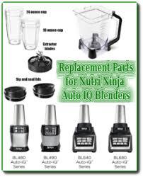 for nutri ninja auto iq blenders