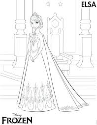 Small Picture Free Elsa Coloring Pages Corresponsablesco