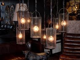 cage pendant lighting. Vintage Dye Baskets? Or Industrial Lighting. Get Cagey. With Metal Cage Pendant Lighting