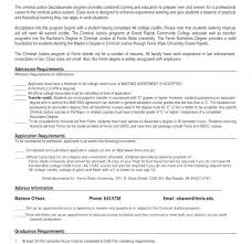 Criminal Justice Resume Criminal Justice Resume Templates Sample For