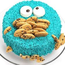 Cookie Monster Cake Let Them Eat Cake Cookie Monster Cakes