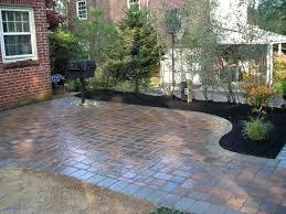 backyard paving ideas new patio ideas backyard brick paver patio design ideas awesome