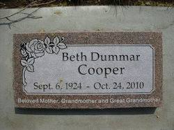 Beth Ball Cooper (1924-2010) - Find A Grave Memorial