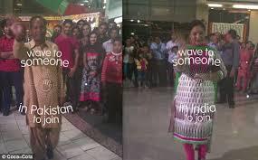 Vending Machines In Pakistan Extraordinary CocaCola Unites Enemies India And Pakistan With Interactive Vending