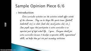 osslt essay questions  opinion essay layout formation department home opinion essay format osslt essay
