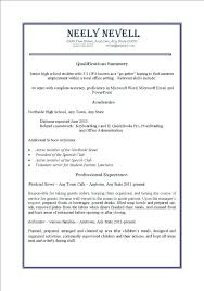 Sample Resume For High School Student First Job First Job Resume