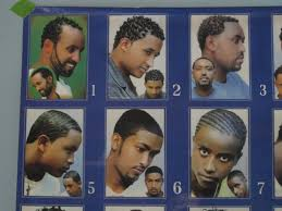African Barbershop Poster Hair Styles Vintage Poster From
