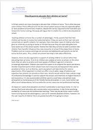 two sided argument essays academic writing skills home education argument essay