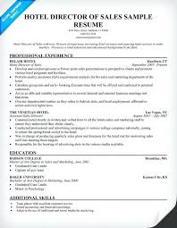 Hotel Sales Manager Resume Senior Sales Executive Resume Hotel Sales ...