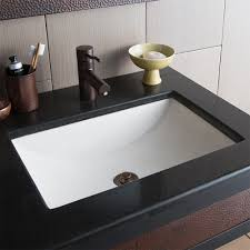 cabrillo dualmount rectangular bathroom sink  native trails