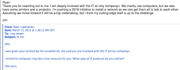 Today Vendor Exchange Had With At Funny It Work An Exciting Email I