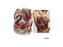 Dočasné Tetování Na Záda Mb 001