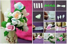 Make Crepe Paper Flower How To Make Crepe Paper Flowers Inspiring How Inspiring How
