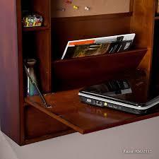 wall mounted laptop desk. florien brown mahogany wall-mount laptop desk wall mounted
