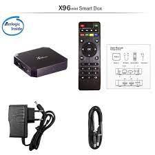 Alat ubah tv biasa jadi smart tv Android - X96 Mini Smart TV Box 4K Android  7.1 DDR3 2GB 16GB