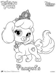 Search result for puppy coloring pages and worksheets, free download and free printable for kids and lots coloring pages and worksheets. Free Coloring Page Featuring Pumpkin From Disney S Princess Palace Pets Skgaleana
