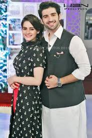 cute and young couple aiman khan and muneeb butt in an eid show cute and young couple aiman khan and muneeb butt in an eid show 13502122 1090659041015285 8002959749882017278 n